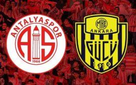 CANLI | Antalyaspor – Ankaragücü