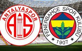 CANLI   Antalyaspor – Fenerbahçe
