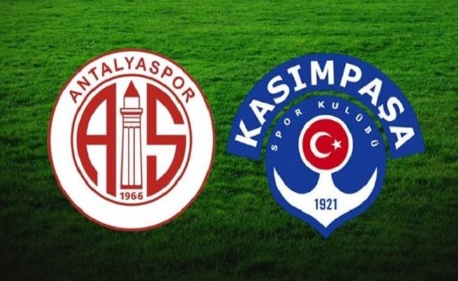 CANLI | Antalyaspor – Kasımpaşa