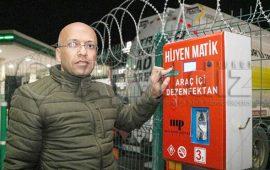 Antalya'da arabalara hijyenmatik hizmeti başladı