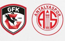 CANLI | Gaziantep FK – FTA Antalyaspor