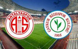CANLI | FTA Antalyaspor – Rizespor