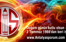 Nice yıllara Antalyaspor!