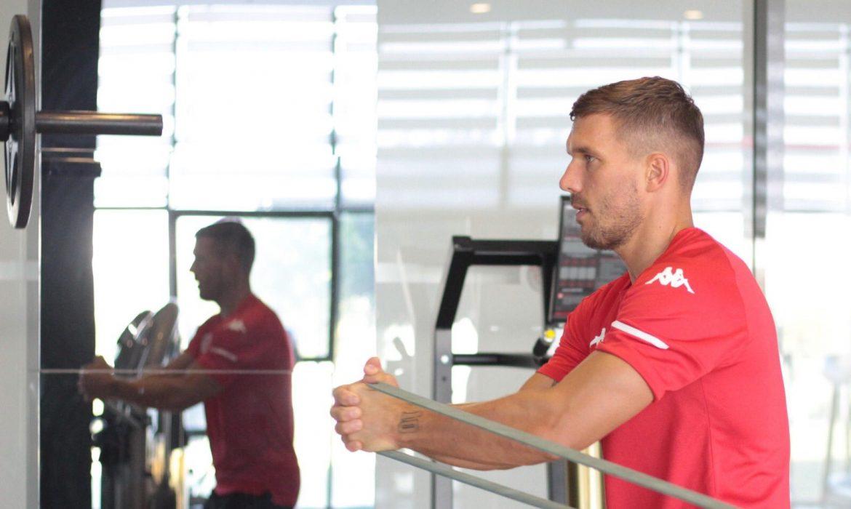 Podolski: Avrupa'da ilk 3'e girer