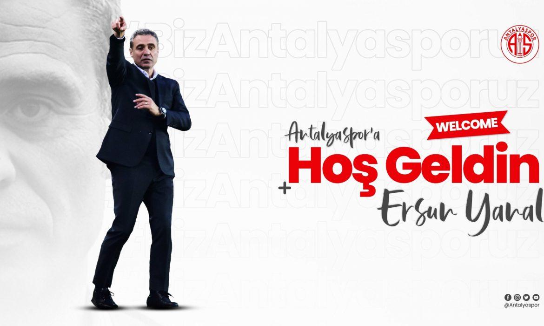 Antalyaspor Ersun Yanal'ı duyurdu