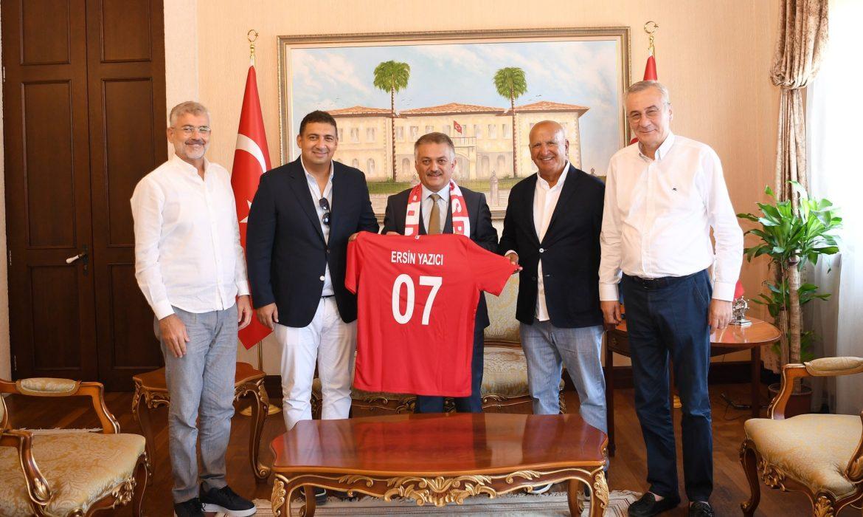 Antalyaspor'da geçici başkanlar belli oldu