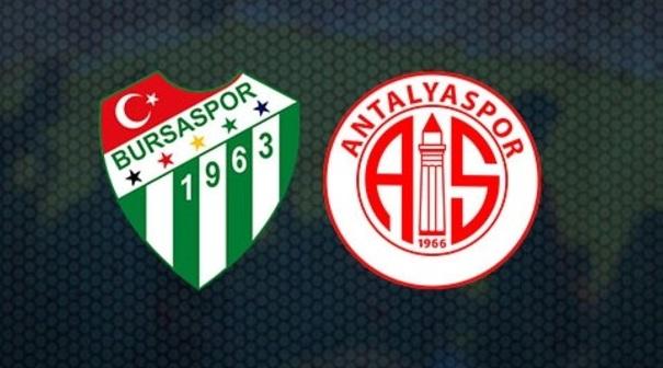 CANLI | Bursaspor – Antalyaspor