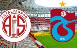 CANLI | FTA Antalyaspor – Trabzonspor