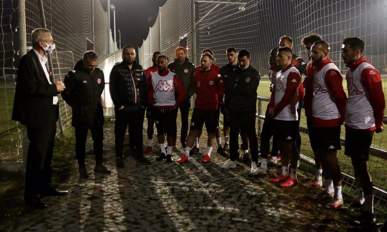 Antalyaspor'da kamp dönemi başladı