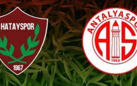 CANLI | Hatayspor – FTA Antalyaspor