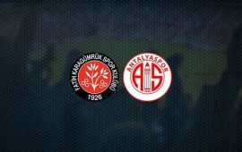 CANLI   Fatih Karagümrük – FTA Antalyaspor