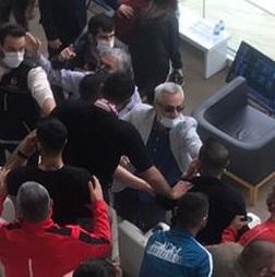 Karagümrük – Antalyaspor maçında protokol tribünde olaylar yaşandı
